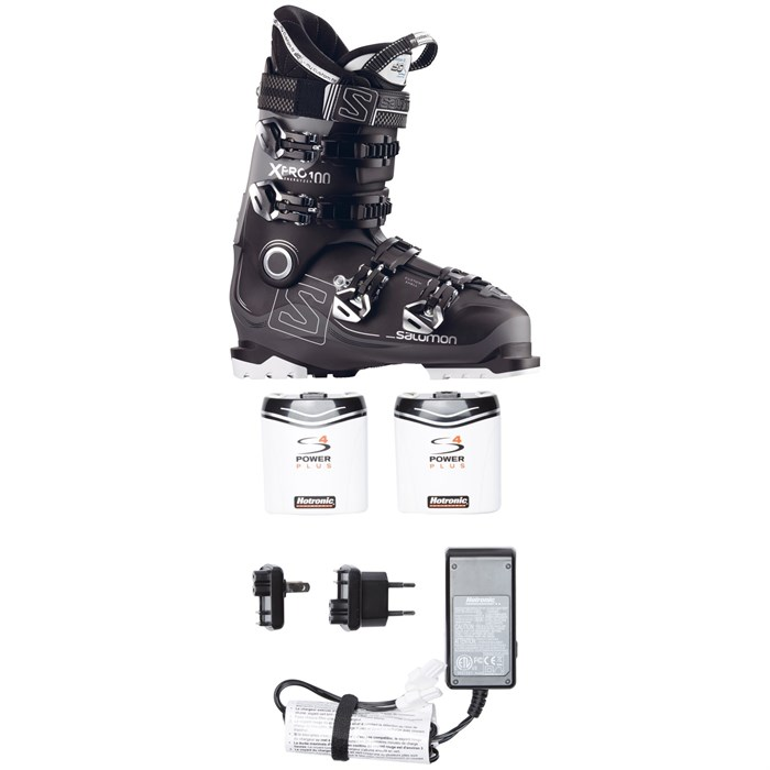 Salomon - X Pro 100 Ski Boots + Hotronic FootWarmer S4 Custom Boot Heater