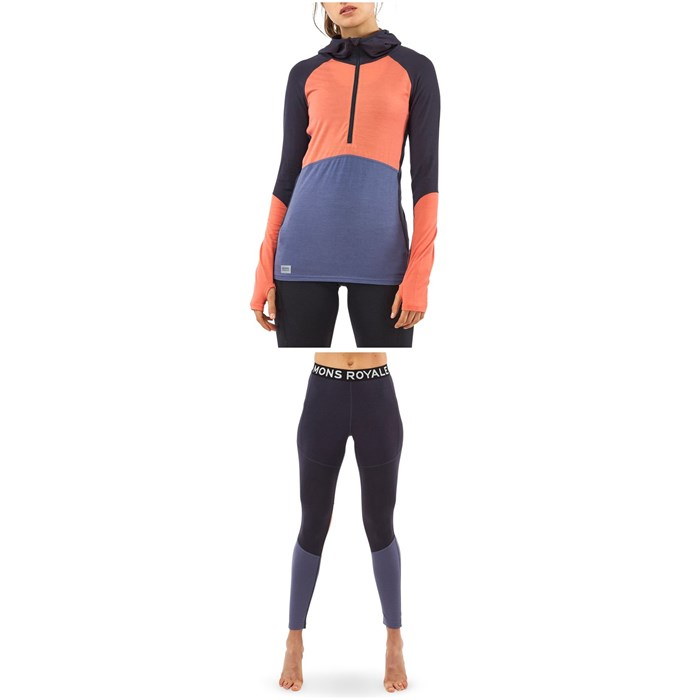 MONS ROYALE - Bella Tech Hoodie + Olympus 3.0 Leggings - Women's