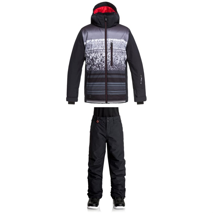 Quiksilver - Mission Engineered Jacket + Quiksilver Estate Pants - Boys'