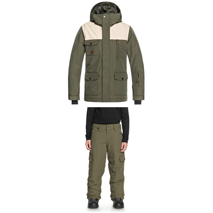 Quiksilver - Raft Jacket + Quiksilver Porter Pants - Boys'