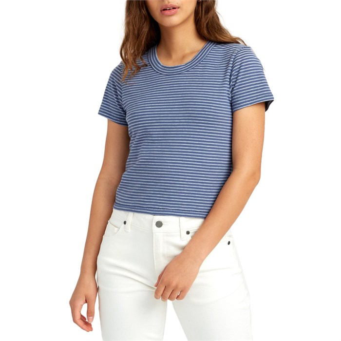 RVCA - Fade Out Baby T-Shirt - Women's