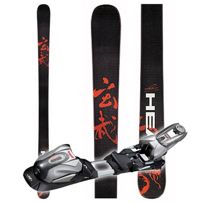 Head Mojo 90 Skis - With Bindings - Used 2006 - Used