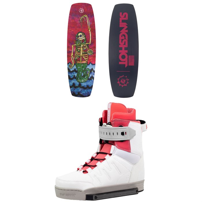 Slingshot - Valley Wakeboard + Jewel Wakeboard Bindings - Women's 2019