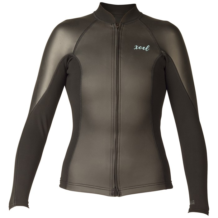 XCEL - Axis 2/1 Smoothskin Long Sleeve Front Zip Wetsuit Jacket - Women's