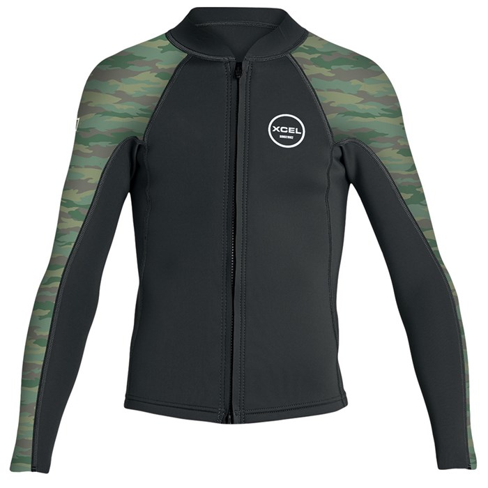 XCEL - Axis 2/1 Front Zip Wetsuit Jacket - Big Kids'
