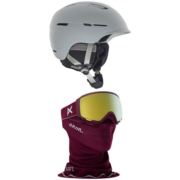 Anon - Auburn MIPS Helmet - Women's + Anon WM1 MFI Goggles - Women's