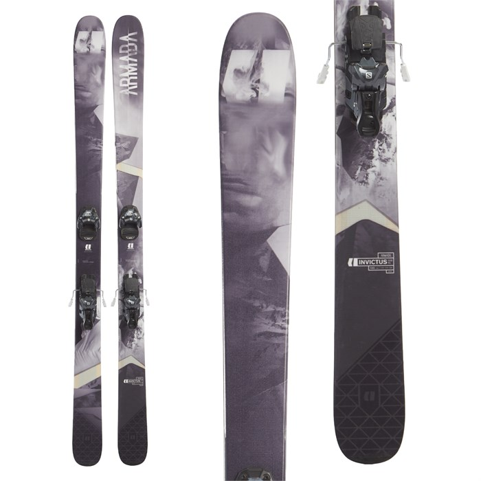 Armada Invictus 108 Ti Skis + Salomon Warden MNC 13 Ski