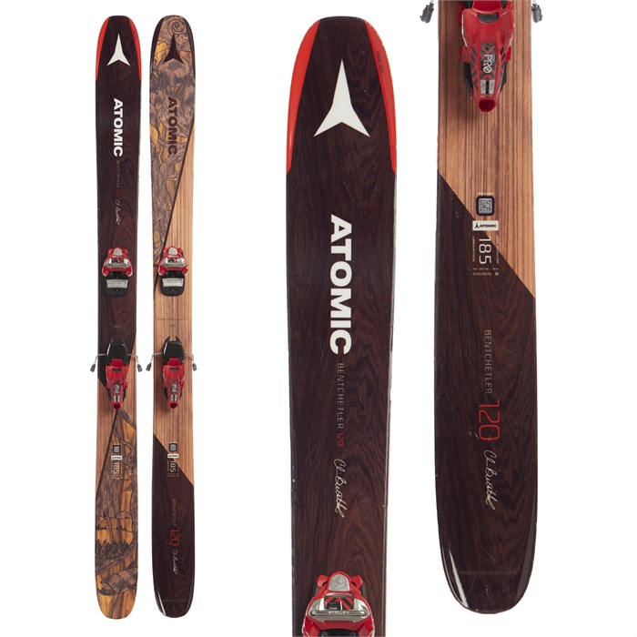 Atomic Backland Bent Chetler Skis + Marker Jester 18 Pro