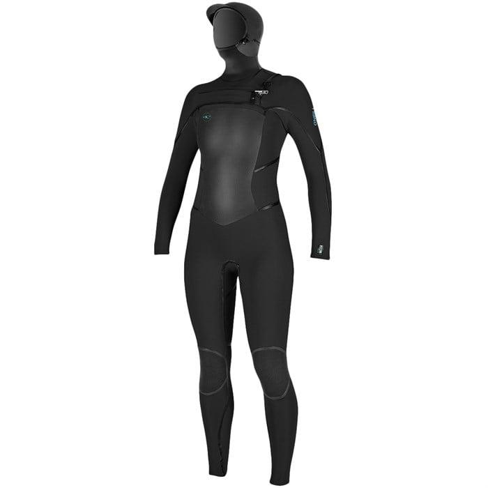 O'Neill - Psycho Tech 5.5/4 Chest Zip Hooded Wetsuit - Women's