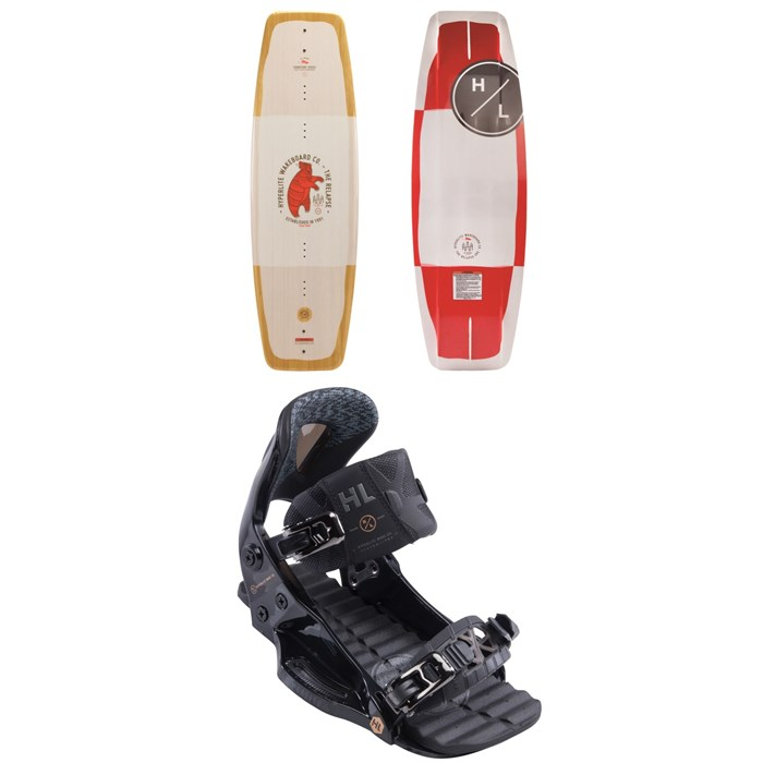 Hyperlite - Relapse Wakeboard + The System Pro Wakeboard Bindings 2019