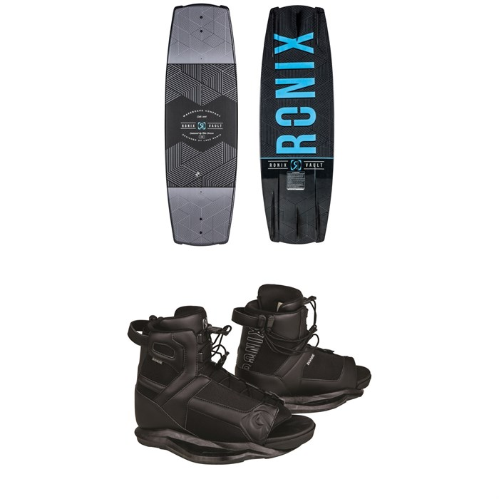 Ronix - Vault Wakeboard + Divide Wakeboard Bindings 2019