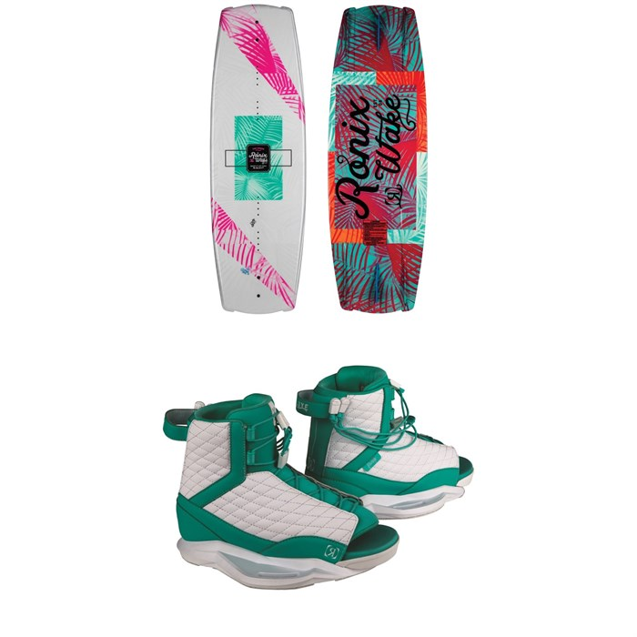 Ronix - Krush Wakeboard + Luxe Wakeboard Bindings - Women's 2019