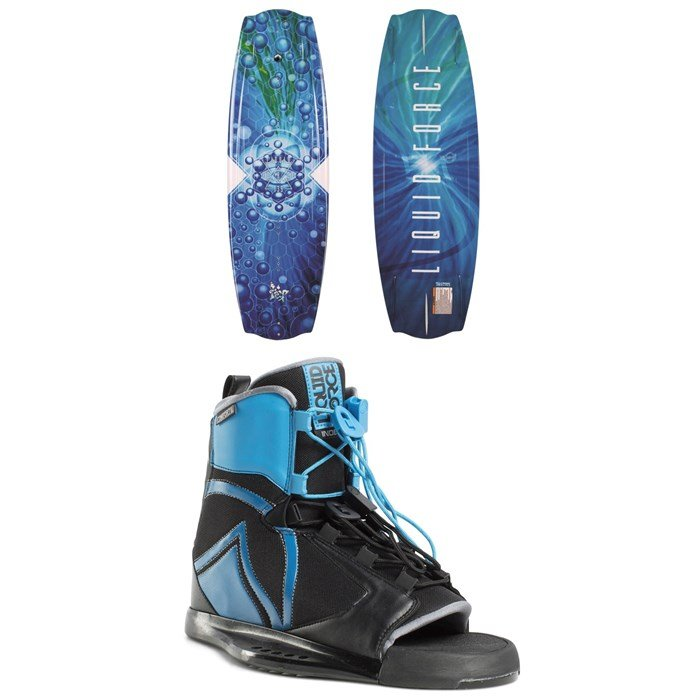 Liquid Force - Trip Wakeboard + Index Wakeboard Bindings 2019