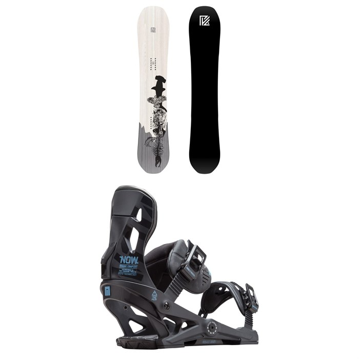 Yes. - Pick Your Line Snowboard + Now Pilot Snowboard Bindings 2019
