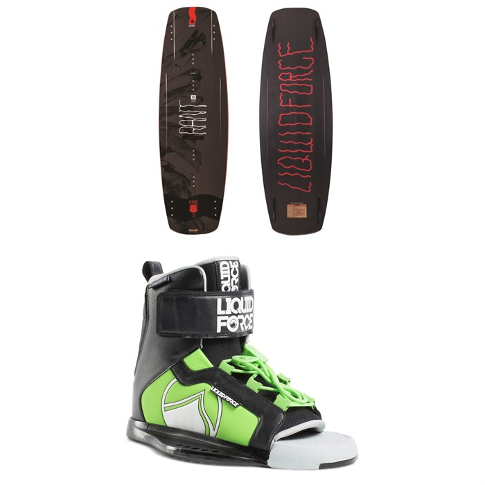 Liquid Force - Rant Wakeboard + Rant Wakeboard Bindings - Boys' 2019