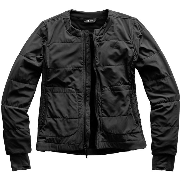 f81d43a4db6f The North Face Mountain Sweatshirt Collarless Full-Zip Jacket ...