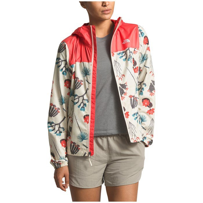 The North Face - Printed Cyclone Windbreaker Jacket - Women's