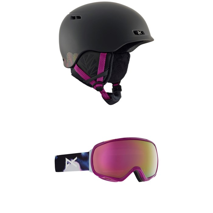 Anon - Griffon Helmet - Women's + Anon Tempest Goggles - Women's