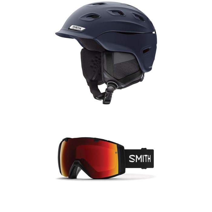 Smith - Vantage MIPS Helmet  + Smith I/O Goggles