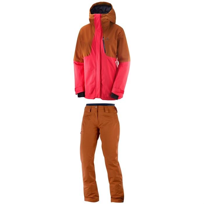 Salomon - QST Snow Jacket + QST Snow Pants - Women's