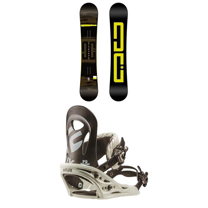 DC - Focus Snowboard + Flux PR Snowboard Bindings 2019