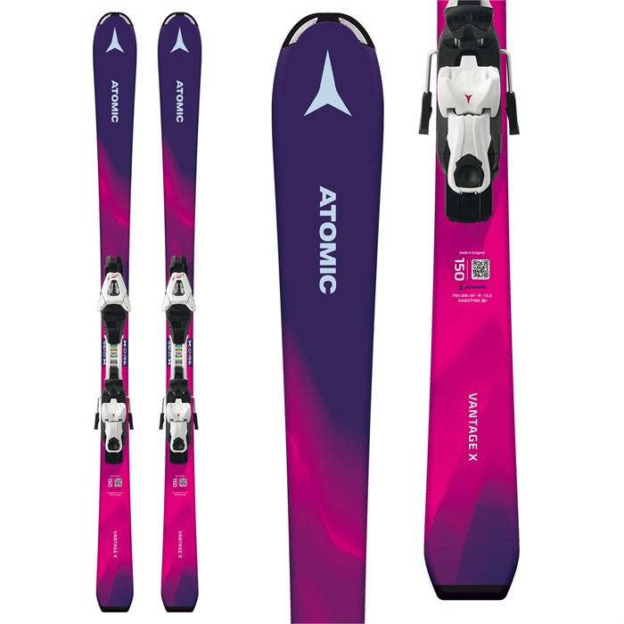 Atomic - Vantage Girl X Skis + C 5 SR Bindings - Girls' 2019