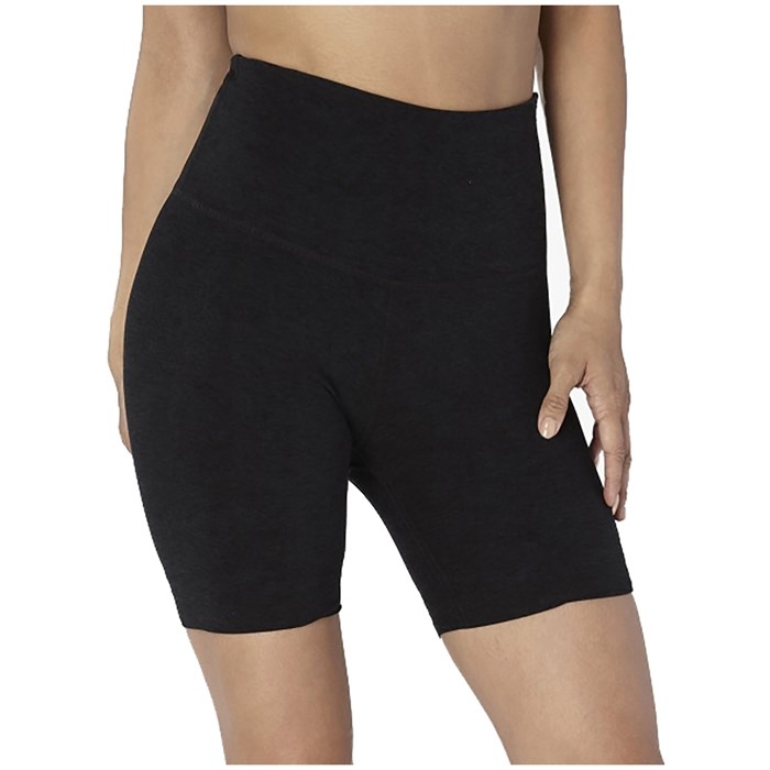 Beyond Yoga - Spacedye High-Waisted Biker Shorts - Women's