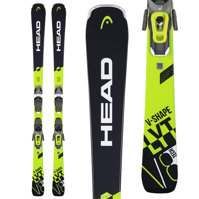 Head - V-Shape V8 + LYT PR 12 Ski Bindings 2019