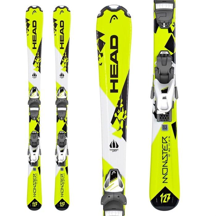 Head - Monster Skis + SLR 7.5 Bindings - Boys' 2019