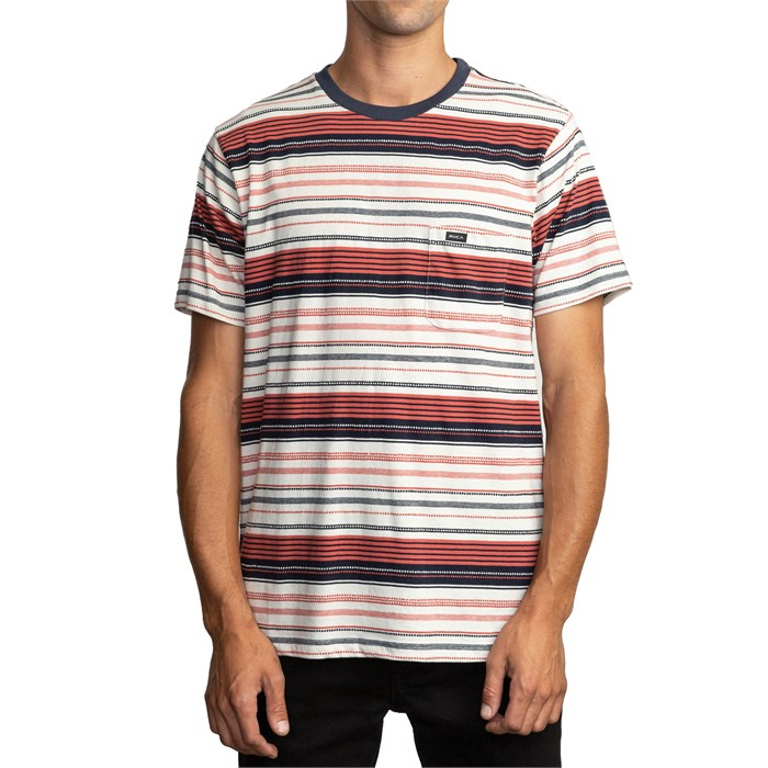 RVCA - Deadbeat Stripe T-Shirt