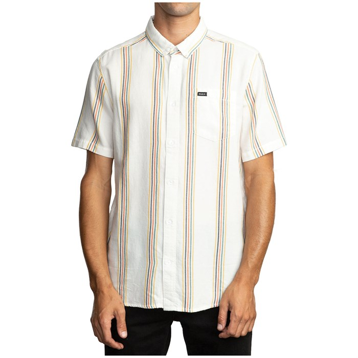 RVCA - Split Stripe Short-Sleeve Shirt