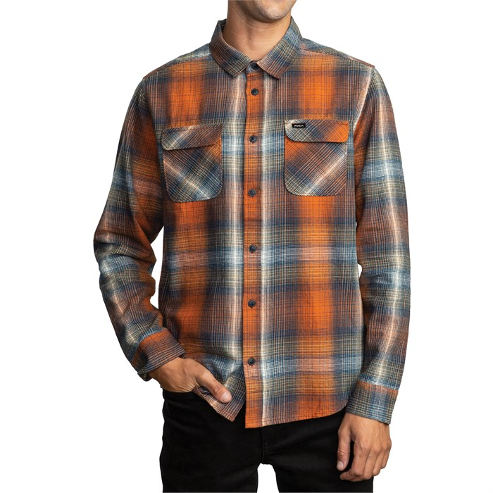 RVCA - Muir Flannel Long-Sleeve Shirt