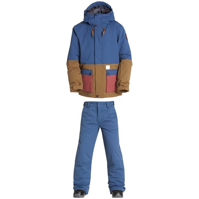 Billabong - Fifty 50 Jacket - Boys' + Billabong Grom Pants - Boys'
