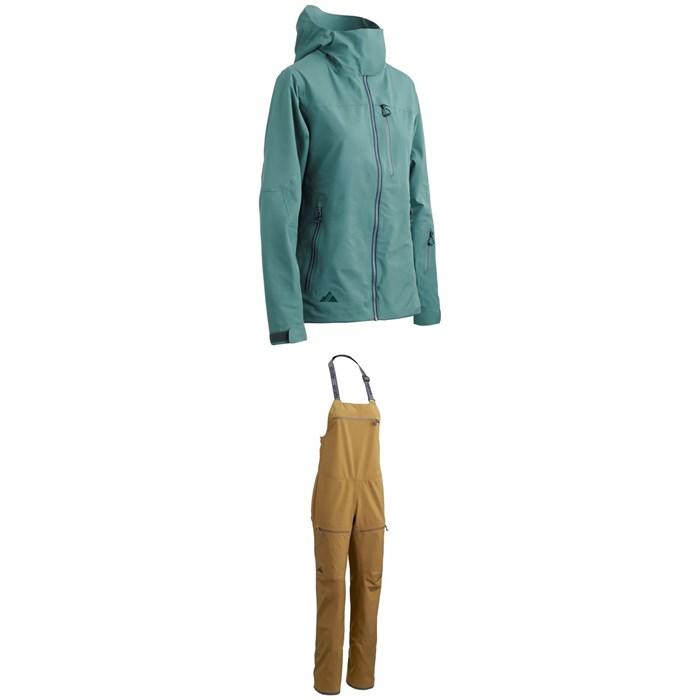 Strafe - Meadow Jacket - Women's + Strafe Scarlett Bib Pants - Women's