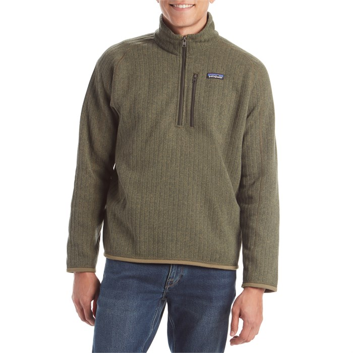 Patagonia - Better Sweater® Rib Knit 1/4 Zip Fleece