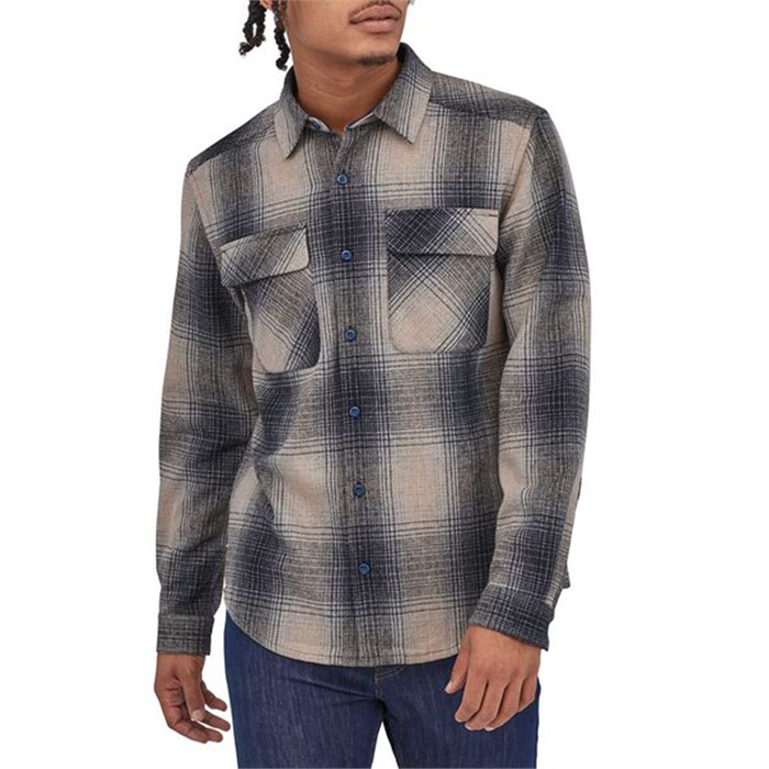 Patagonia - Long-Sleeved Recyled Wool Shirt