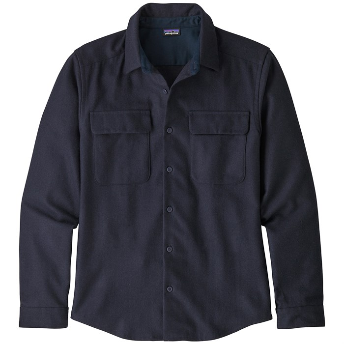 Patagonia - Long-Sleeved Recyled Wool Shirt