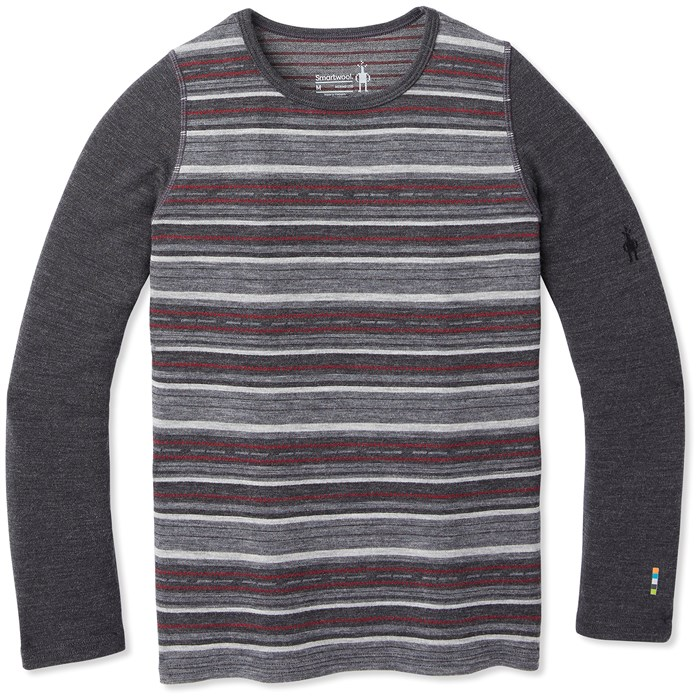 Smartwool - Merino 250 Baselayer Pattern Crew - Big Kids'