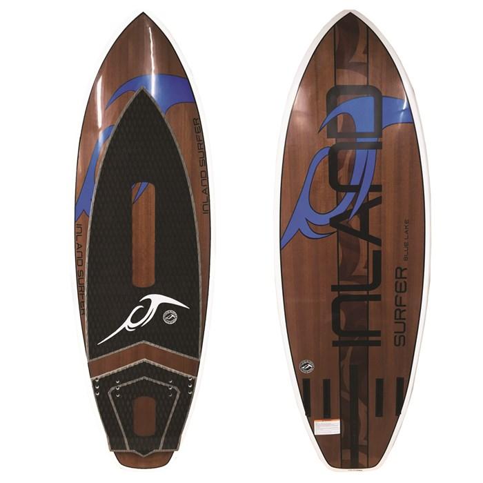 Inland Surfer - Blue Lake Wakesurf Board 2019