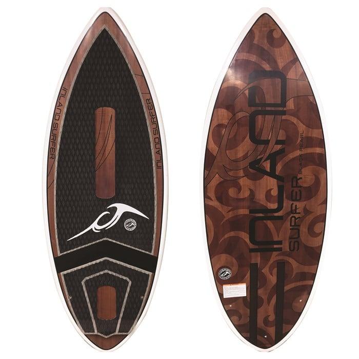 Inland Surfer - Black Pearl Skim Wakesurf Board 2019