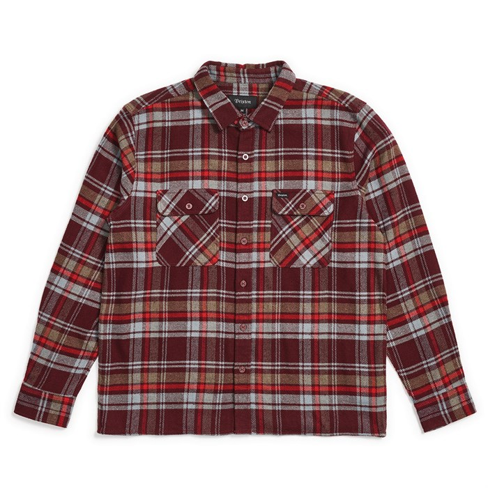 Brixton - Archie Long-Sleeve Flannel Shirt