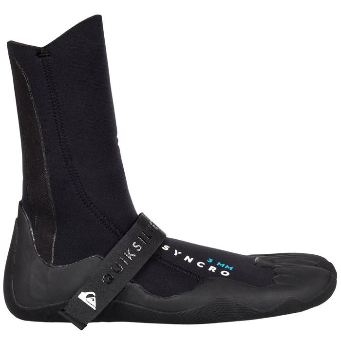 Quiksilver - 3mm Syncro Split Toe Wetsuit Booties