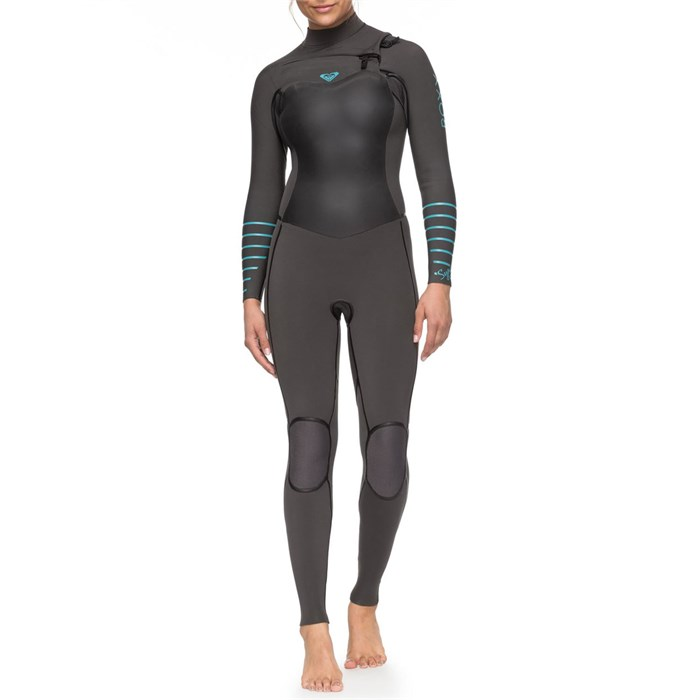 Roxy - 4/3 Syncro+ Chest Zip Wetsuit - Women's
