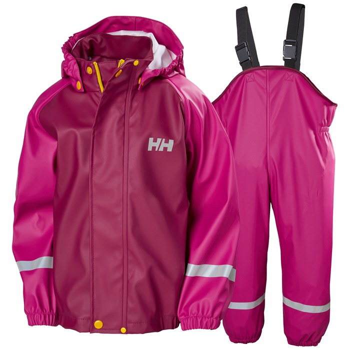 Helly Hansen - Bergen PU Rainset - Little Kids'