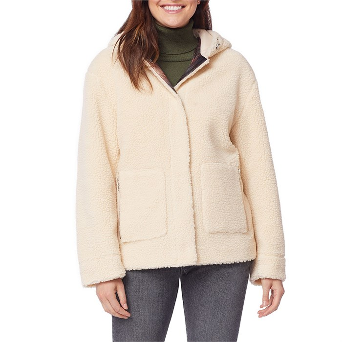 Pendleton - Berber Fleece Hooded Jacket - Women's