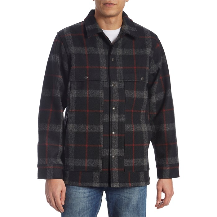 Filson - Unlined Wool Cape Coat