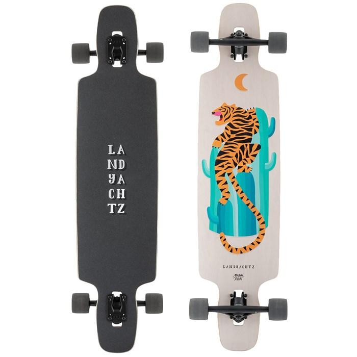 Landyachtz - Drop Carve Desert Tiger Longboard Complete