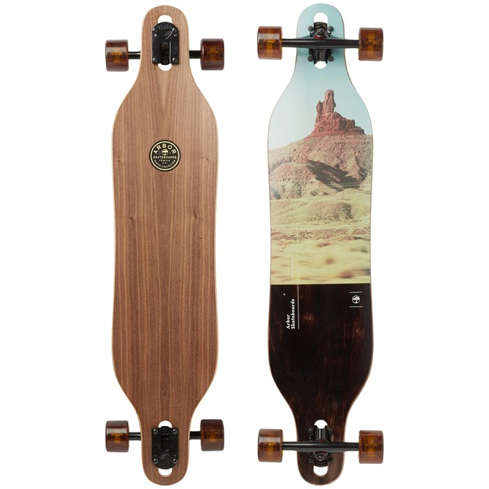 Arbor - Axis Photo Longboard Complete