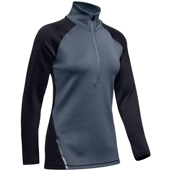 Under Armour - ColdGear® Armour 1/2 Zip Colorblock Shirt - Women's