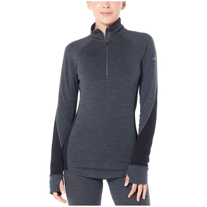 Icebreaker - 260 Zone Long Sleeve Half Zip Top - Women's